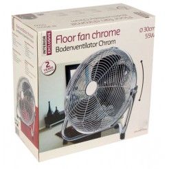 Interior Exclusive Vloerventilator (chroom)
